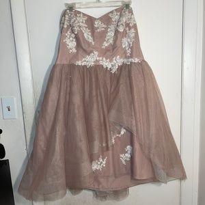 Alfred Angelo Disney Fairy Tail Bridesmaid dress
